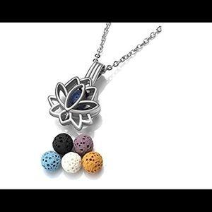 Jewelry - Lava rock aroma therapy pendant